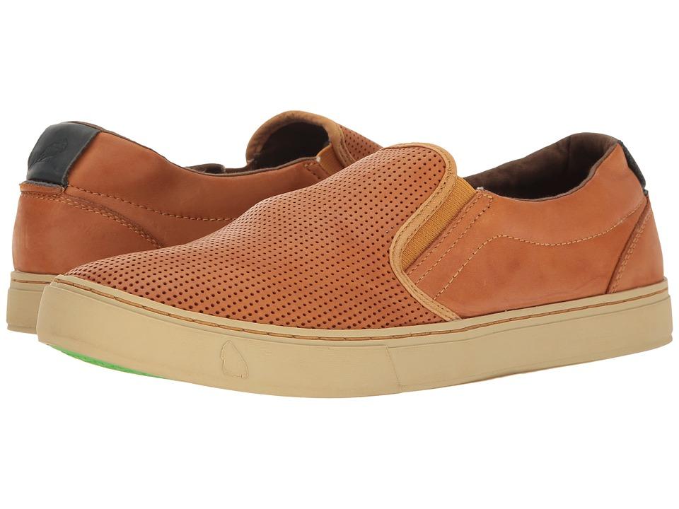 Satorisan - Soumei-Napa Leather Punch (Cuero) Men's Shoes