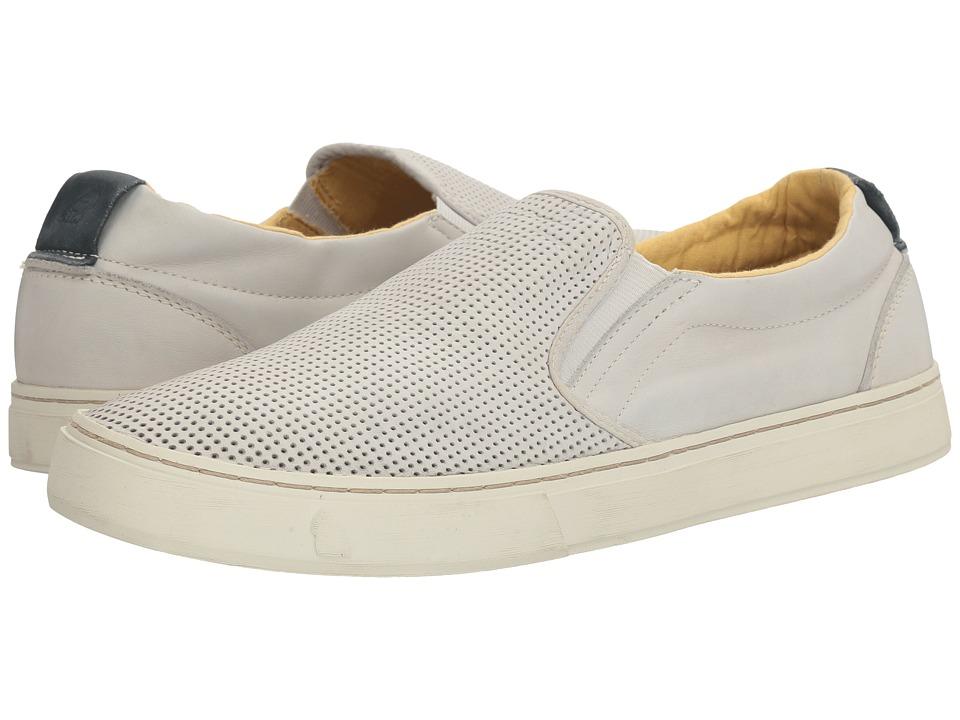 Satorisan - Soumei-Napa Leather Punch (Concrete) Men's Shoes