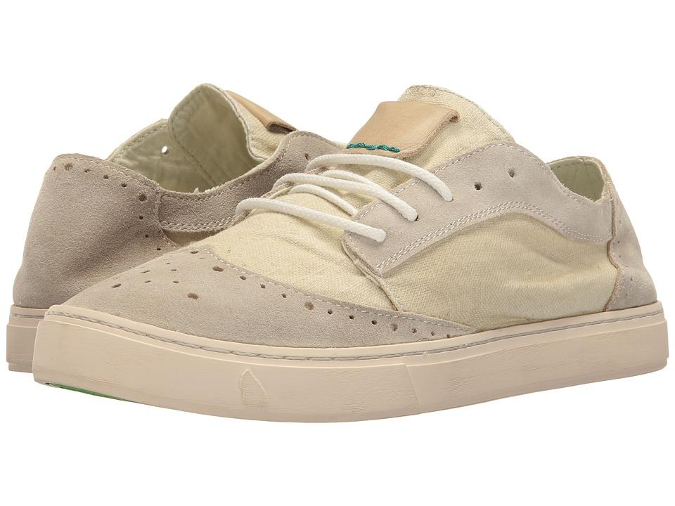 Satorisan - Yukai-Suede Linen (Mega Marbre) Men's Shoes