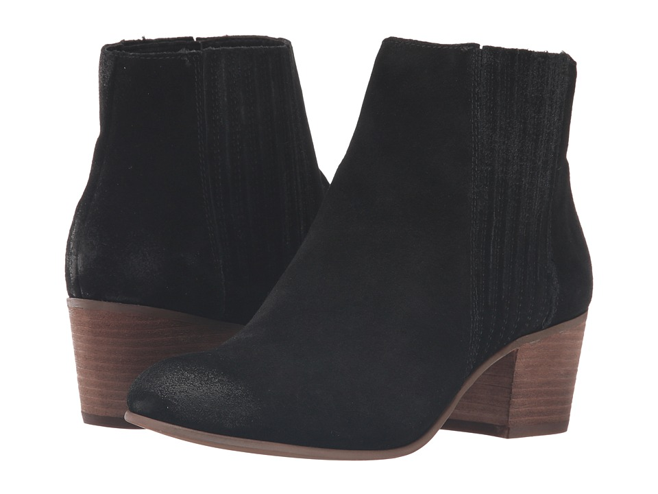 Dolce Vita - Iona (Black Suede) Women's Shoes