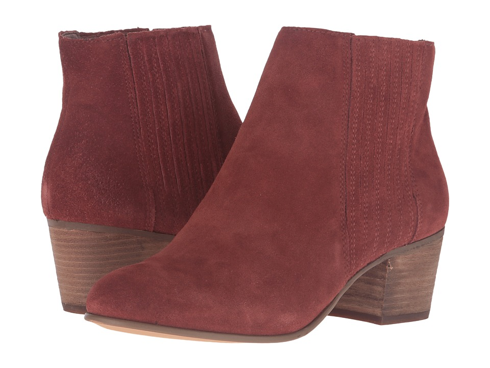 Dolce Vita - Iona (Rust Suede) Women's Shoes