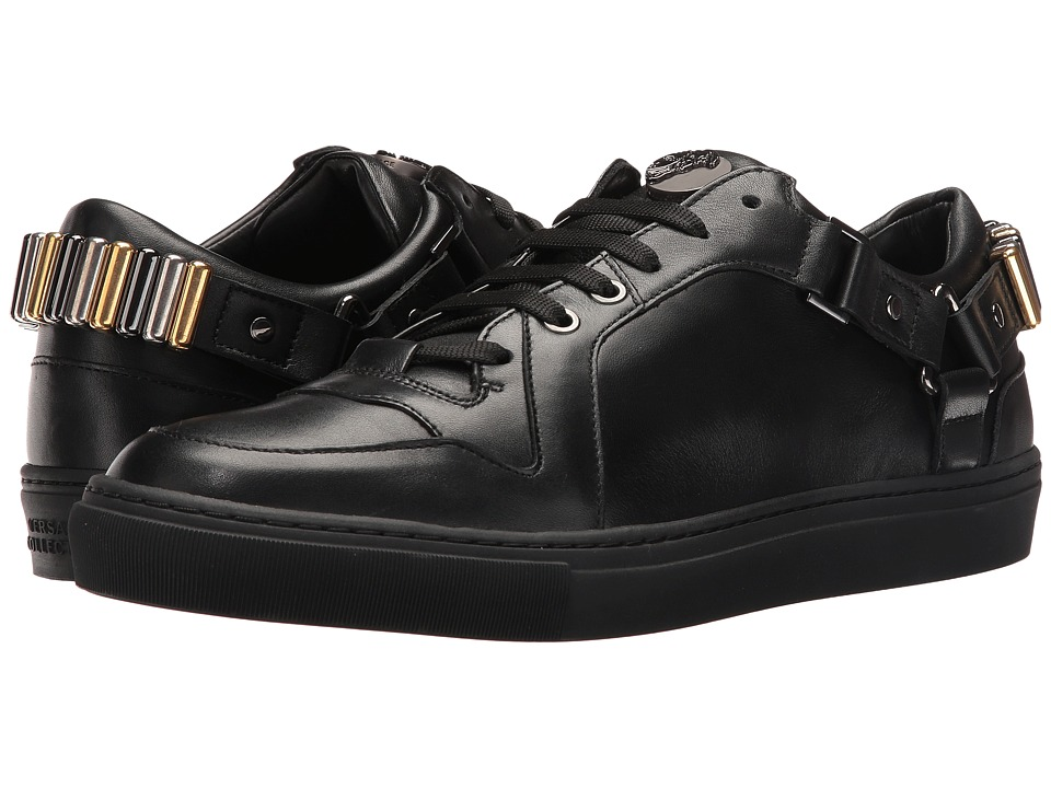 Versace Collection - V900585VM00011 (Black/Gunmetal) Men's Shoes
