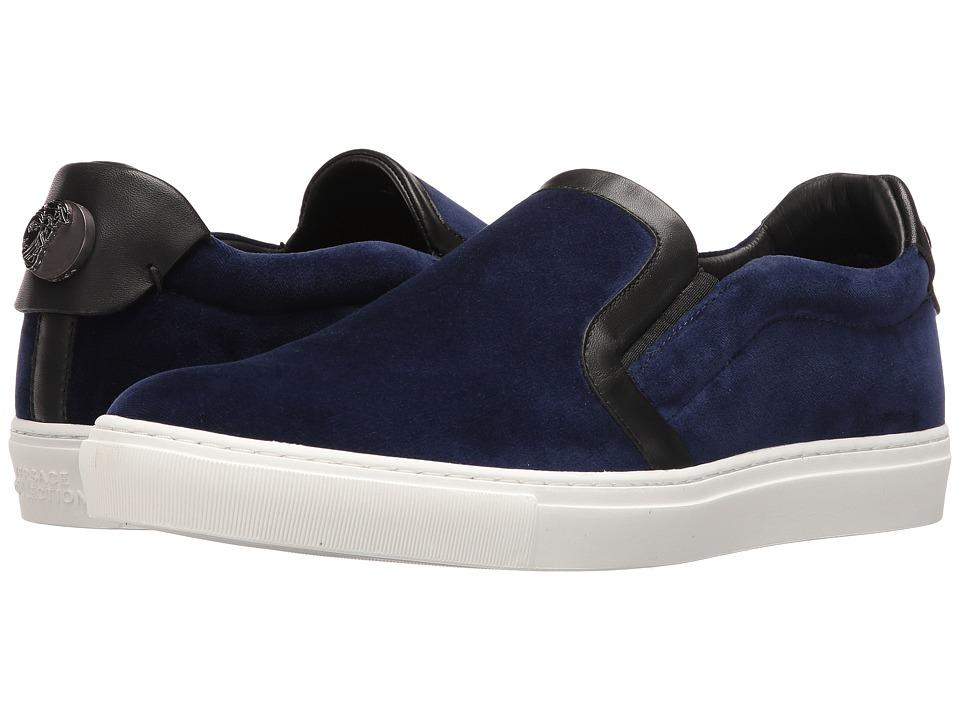 Versace Collection - V900589VM00243 (Blue/Black/Gunmetal) Men's Shoes