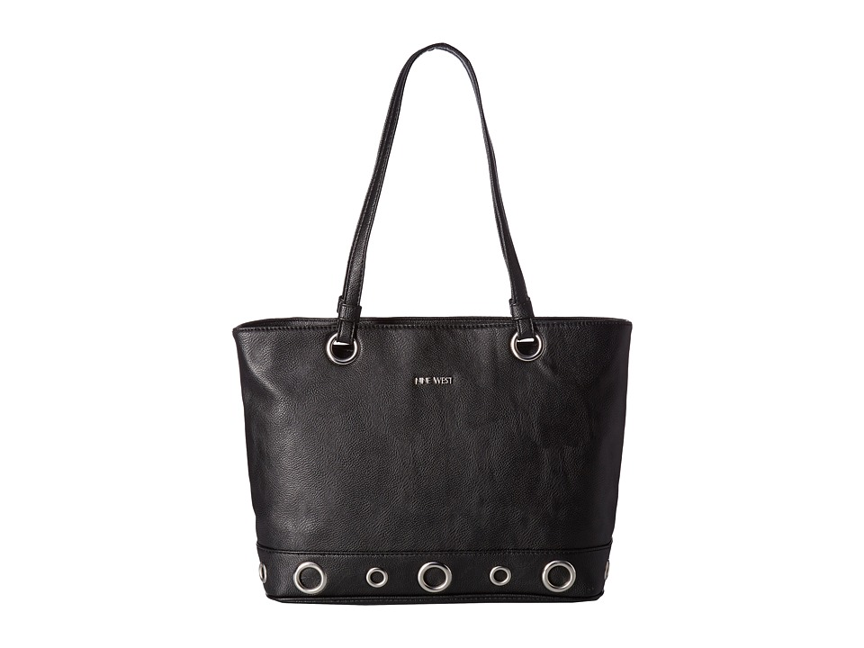Nine West - Boho Buckets (Black/Black) Handbags