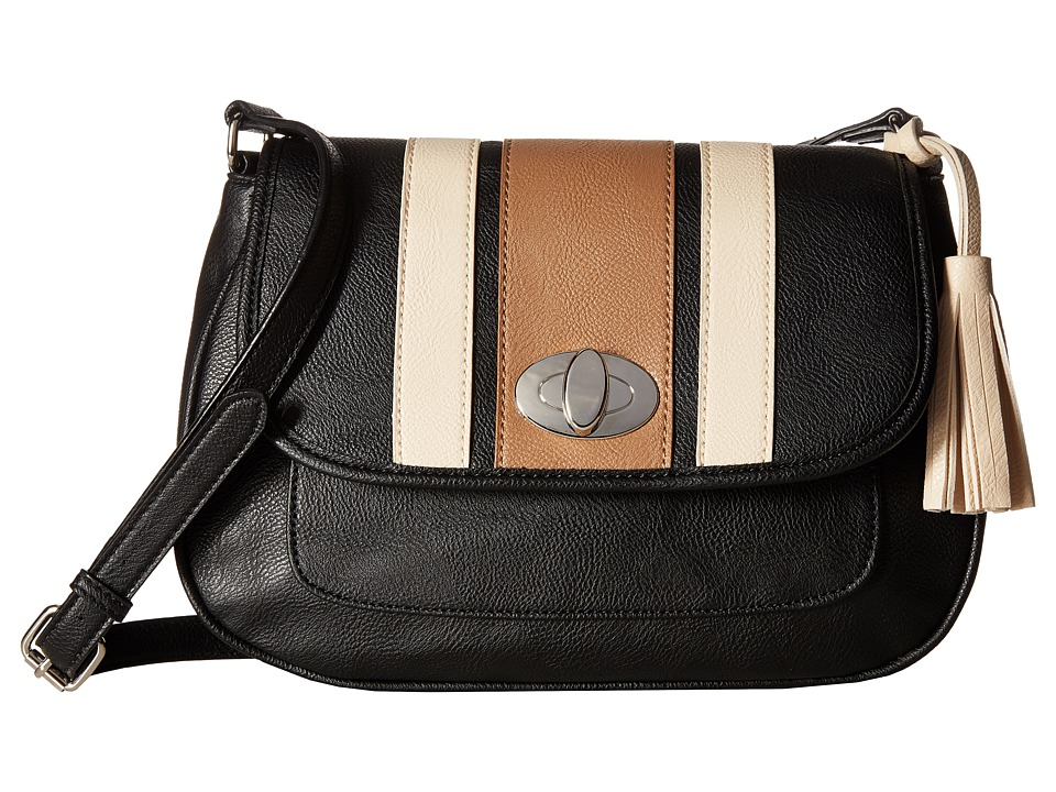 Nine West - All Casual (Black/Dark Wheat/Toasted Oat) Handbags
