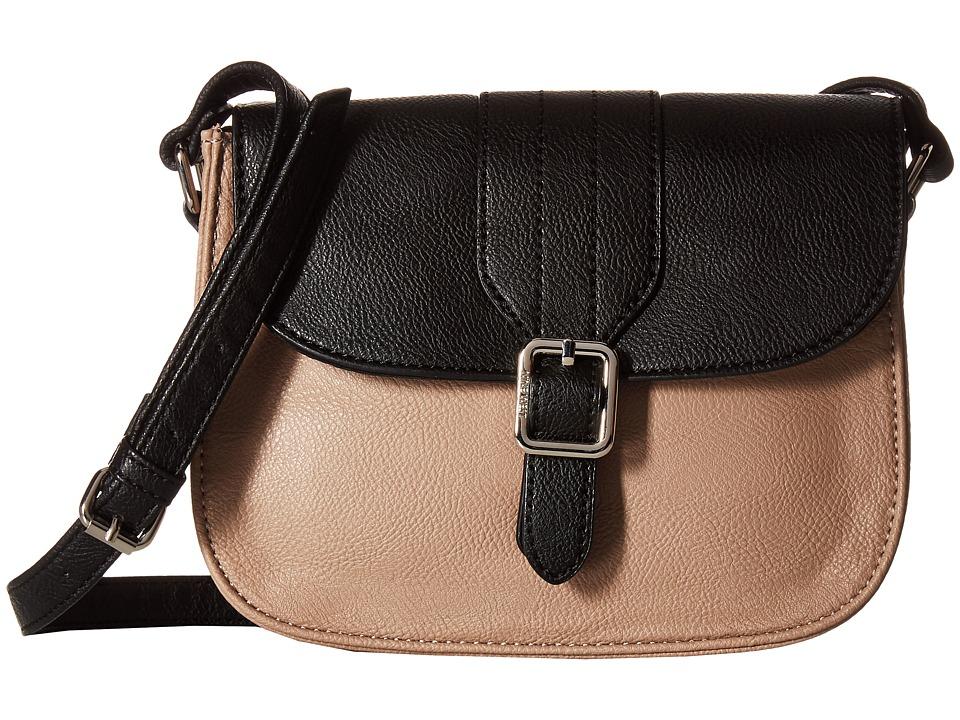 Nine West - Buckle Near (Quartz/Black) Handbags