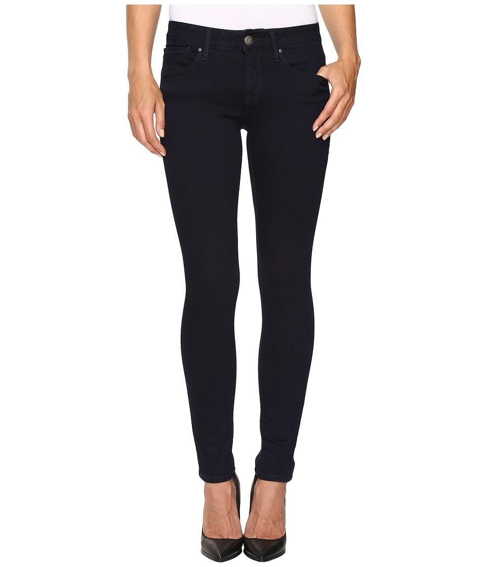 Mavi Jeans Alexa Mid-Rise Skinny in Dark Shanti (Dark Shanti) Women