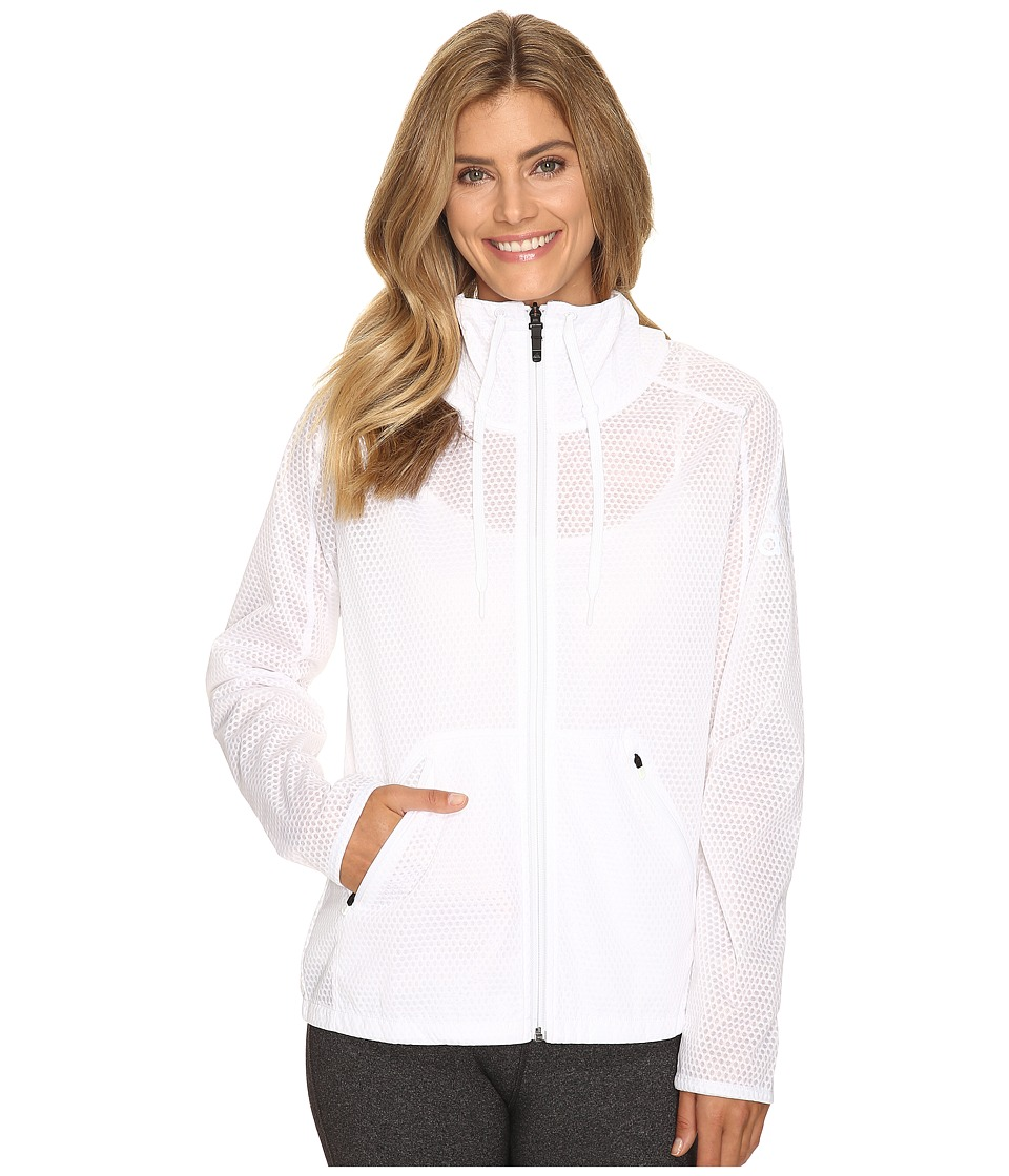 adidas - Climastorm Jacket (White) Women's Coat
