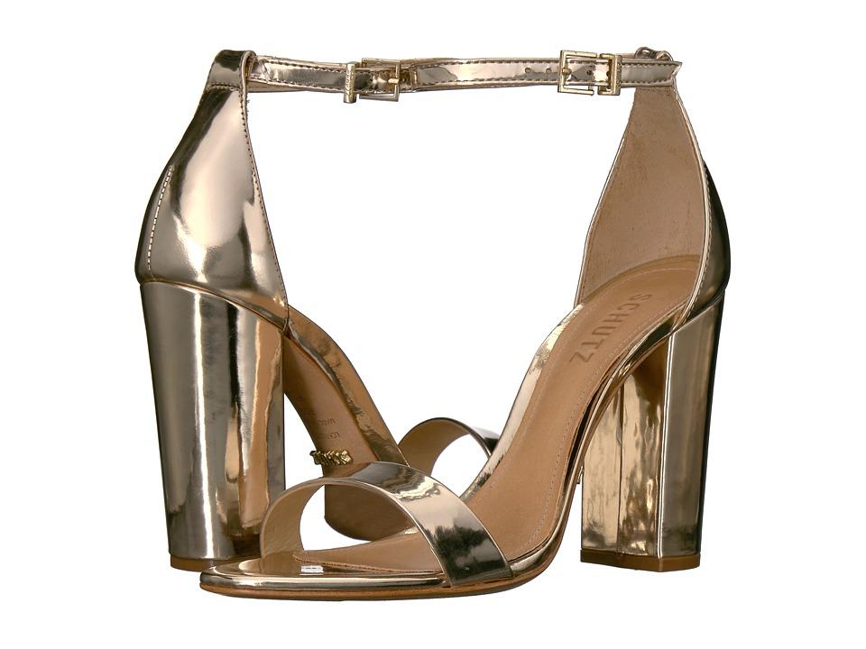 Schutz Enida (Platina) High Heels