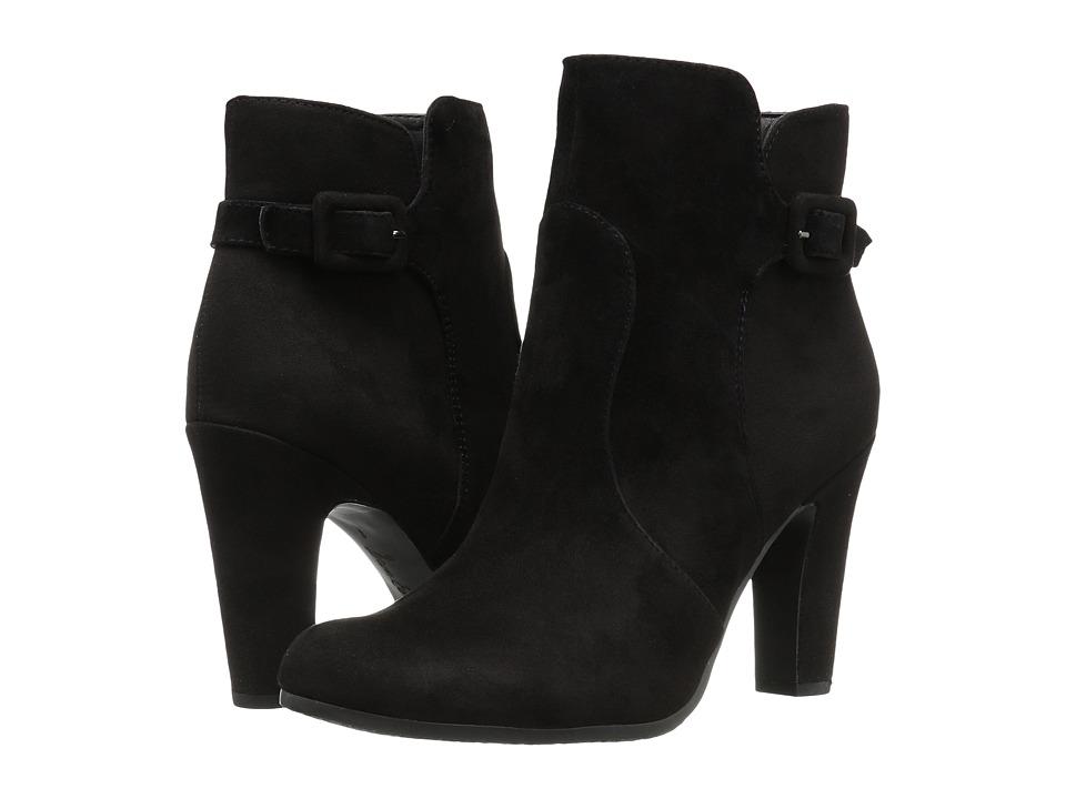 Sam Edelman - Sylvie (Black Suede) Women's Boots