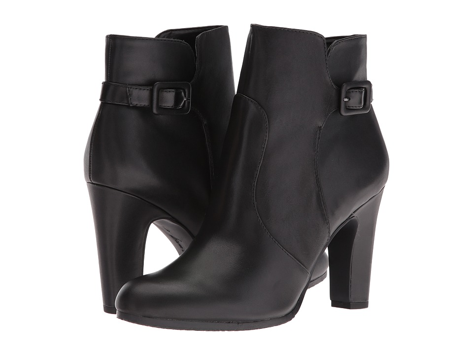 Sam Edelman - Sylvie (Black Leather) Women's Boots