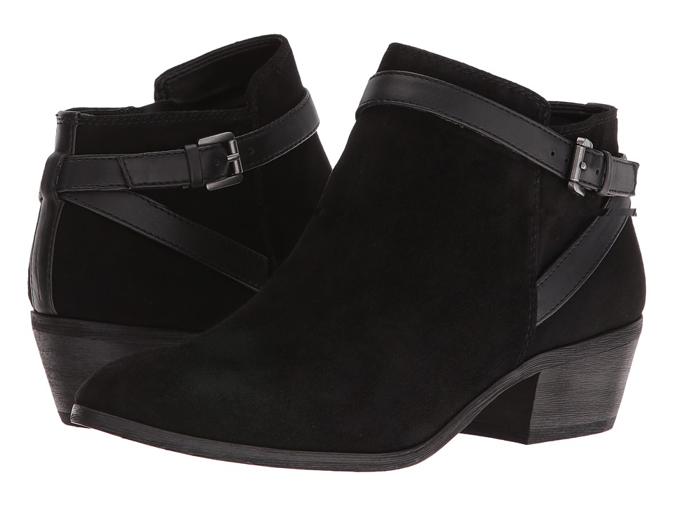 Sam Edelman - Pirro (Black Suede) Women's Pull-on Boots