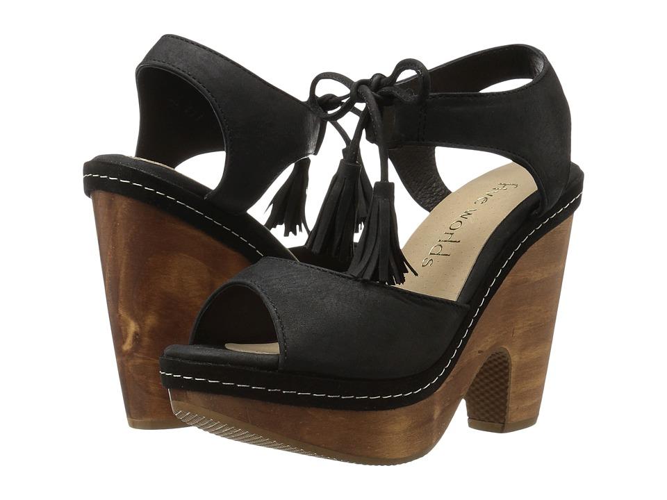 Cordani Cantar (Black Nubuck) High Heels