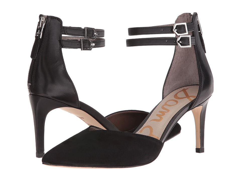Sam Edelman - Oriana (Black Suede) High Heels