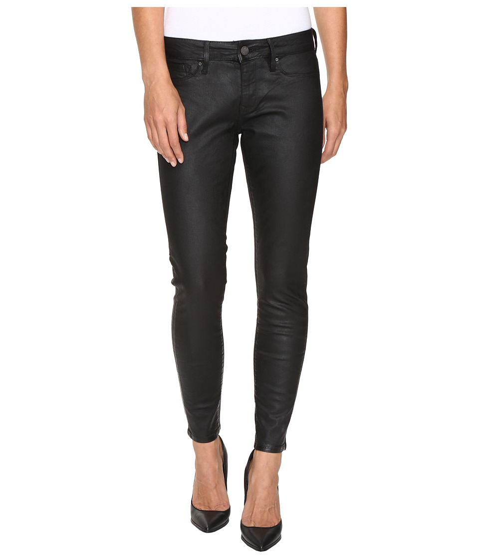 Mavi Jeans - Alexa Ankle in Black Coated (Black Coated) Women's Jeans