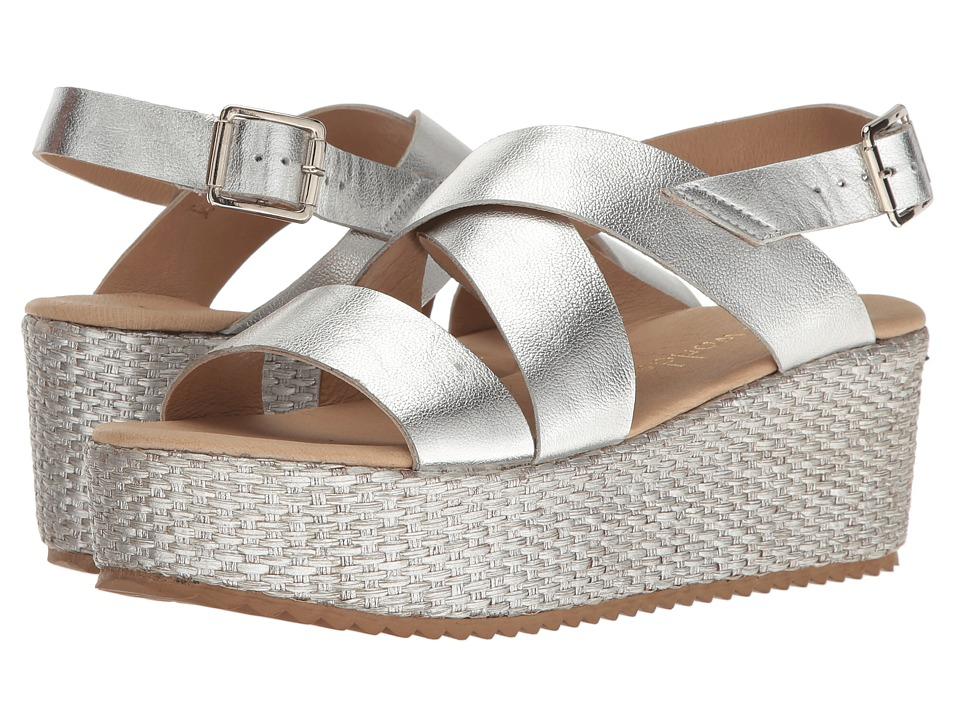 Cordani - Rosalinda (Silver) Women's Wedge Shoes