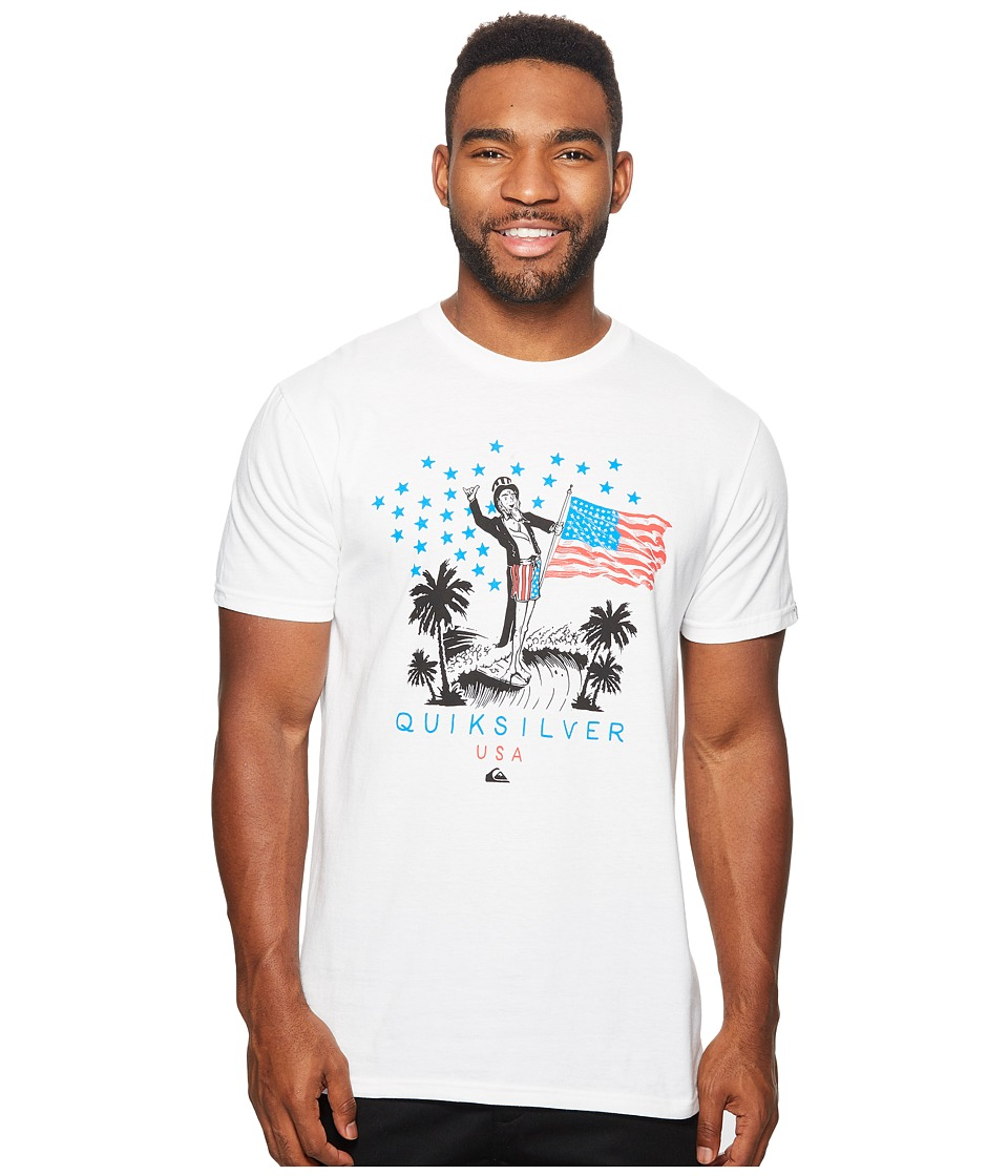 Quiksilver - Yeww! S Of A (White) Men's Clothing