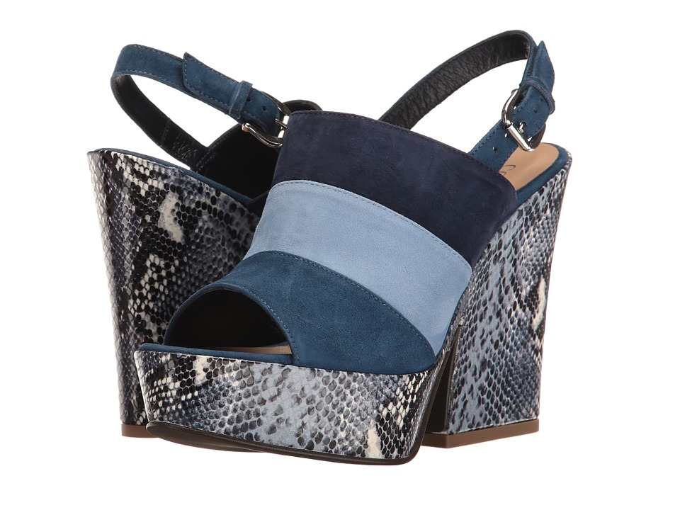 Cordani Visage (Blue Combo) High Heels