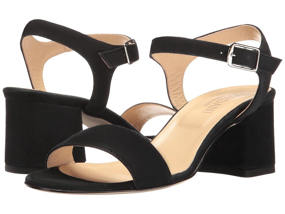 Cordani - Neda (Black Suede) Women's Sandals