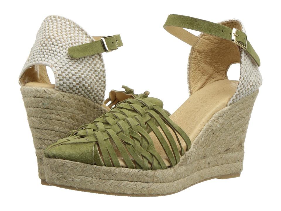 Cordani - Emilio (Khaki Suede) Women's Wedge Shoes