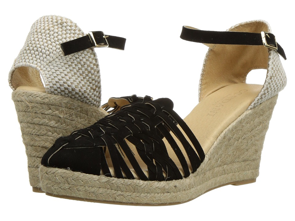Cordani - Emilio (Black Suede) Women's Wedge Shoes