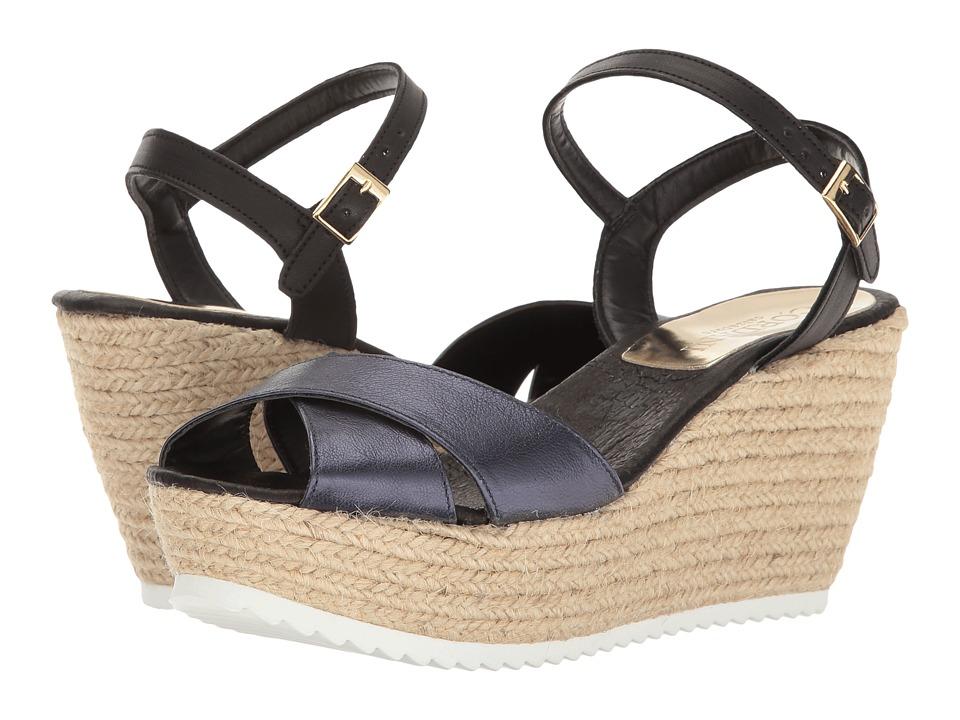 Cordani - Heroe (Navy Metallic) Women's Wedge Shoes