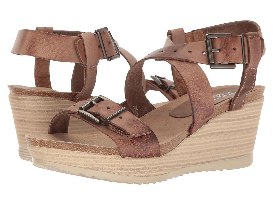 Cordani - Safira (Beige Leather) Women's Wedge Shoes