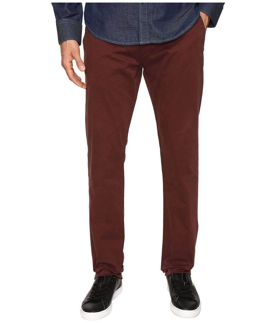 Mavi Jeans - Johnny in Burgundy Twill (Burgundy Twill) Men's Jeans