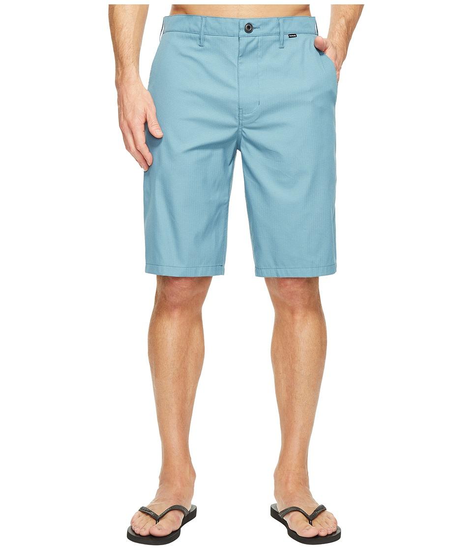 Hurley Dri-Fit Harrison Walkshorts (Smokey Blue) Men