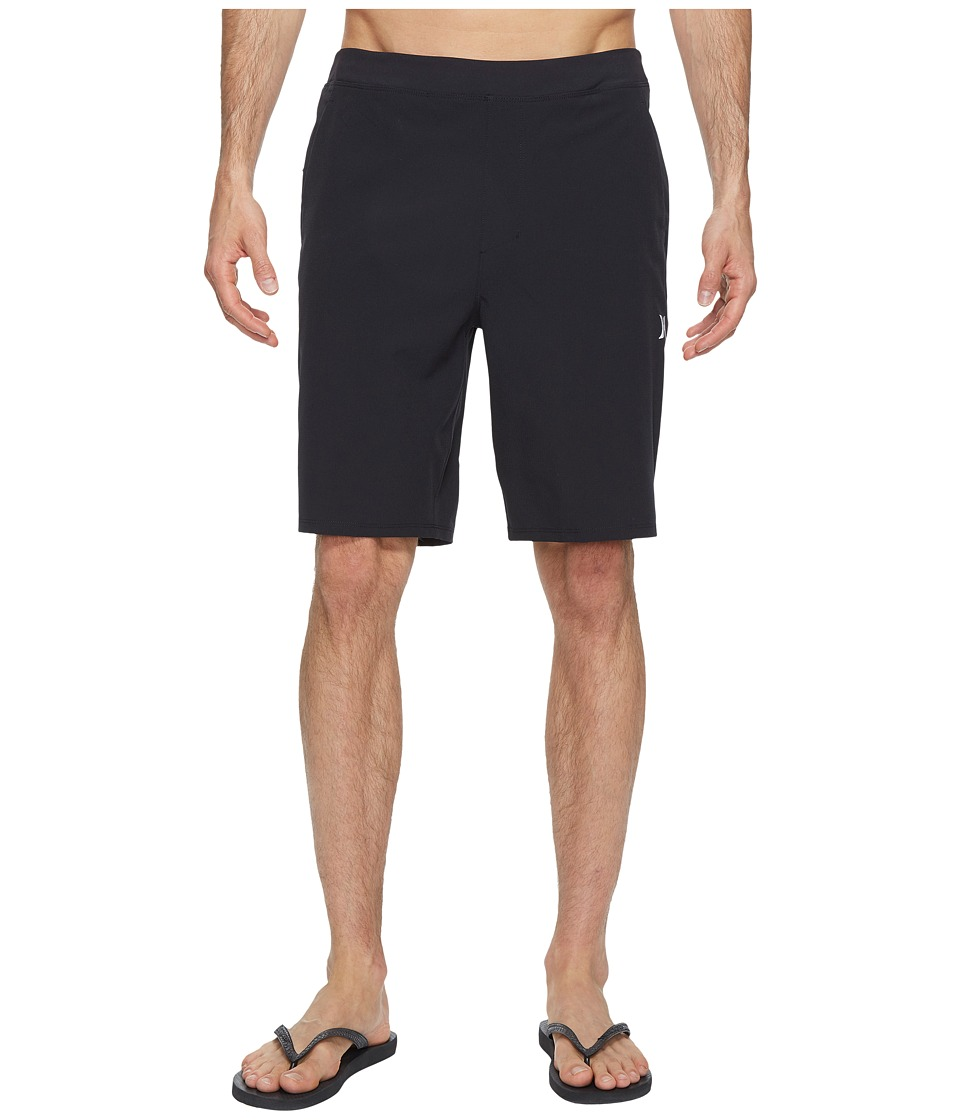Hurley - Alpha Trainer Hybrid Shorts (Black) Men's Shorts