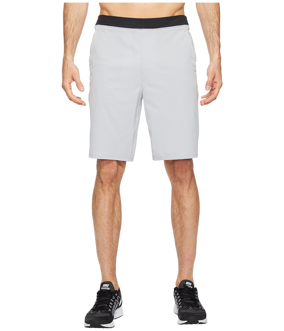 Hurley - Alpha Trainer Hybrid Shorts (Wolf Grey) Men's Shorts