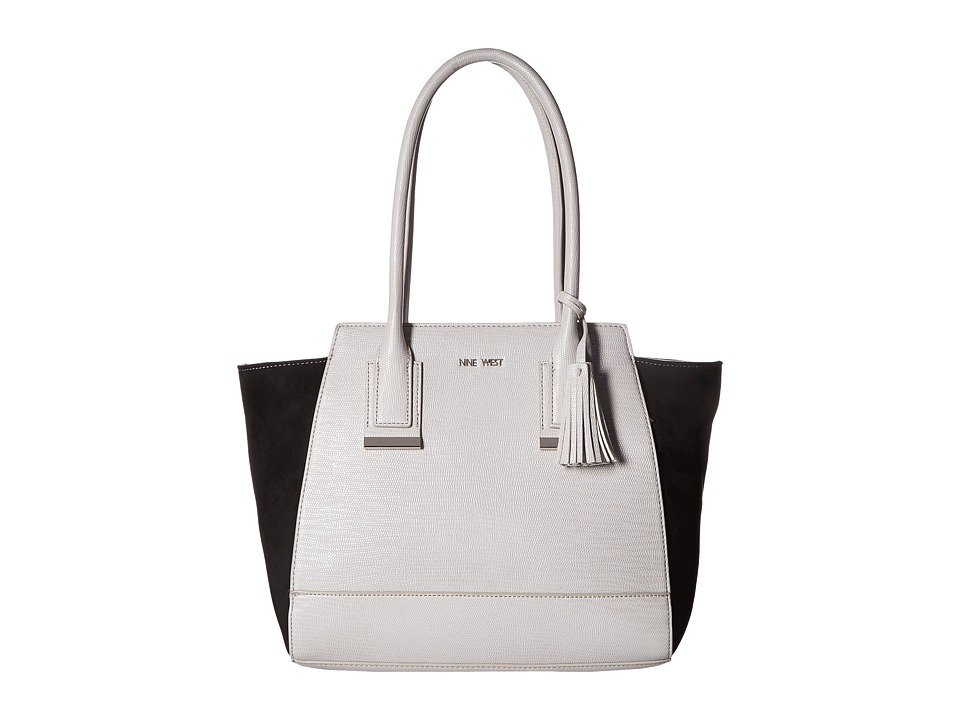 Nine West - Smart Start (Light Cobblestone/Black) Handbags
