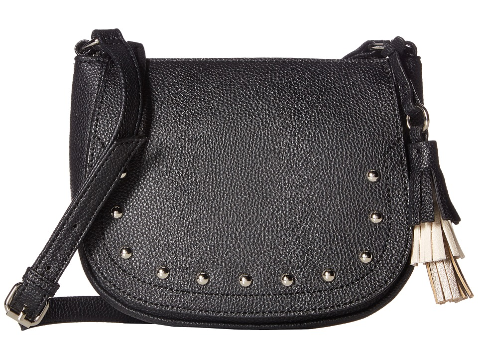 Nine West - Mini Evelina (Black/Milk/Shimmer Silver) Handbags