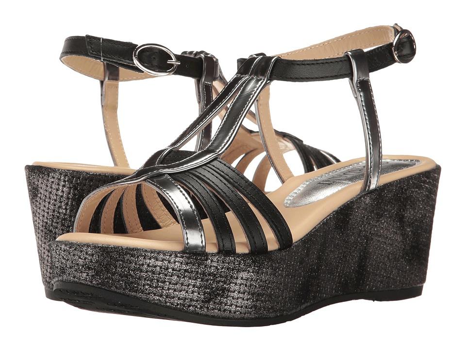Cordani - Dardon (Black) Women's Wedge Shoes