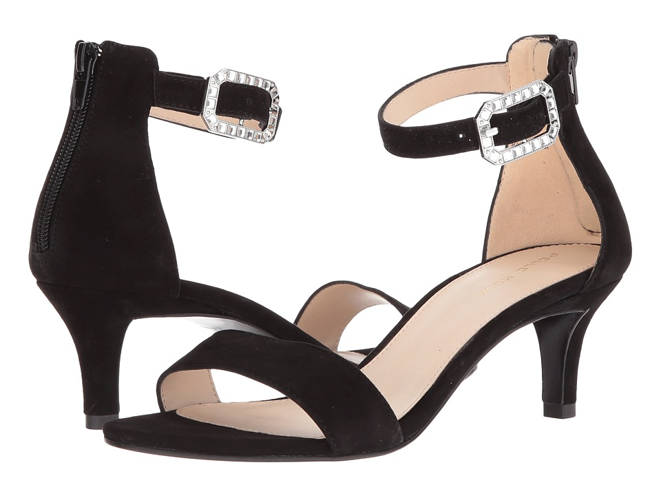 Pelle Moda Bette (Black Suede) High Heels
