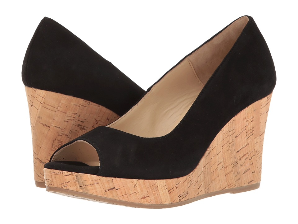 Cordani - Rayner (Black Suede) Women's Wedge Shoes
