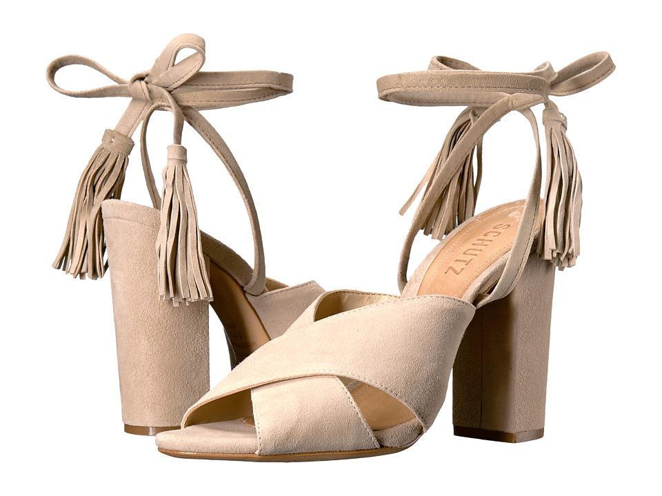 Schutz - Damila (Oyster) Women's Shoes