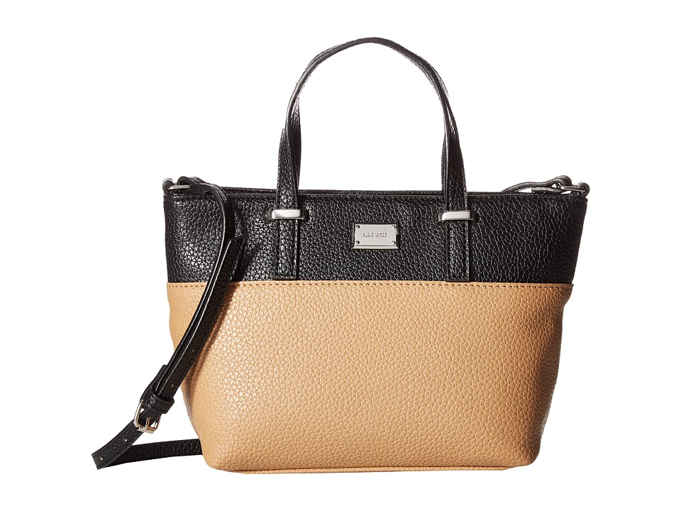 Nine West - It Girl (Black/Dark Camel) Handbags