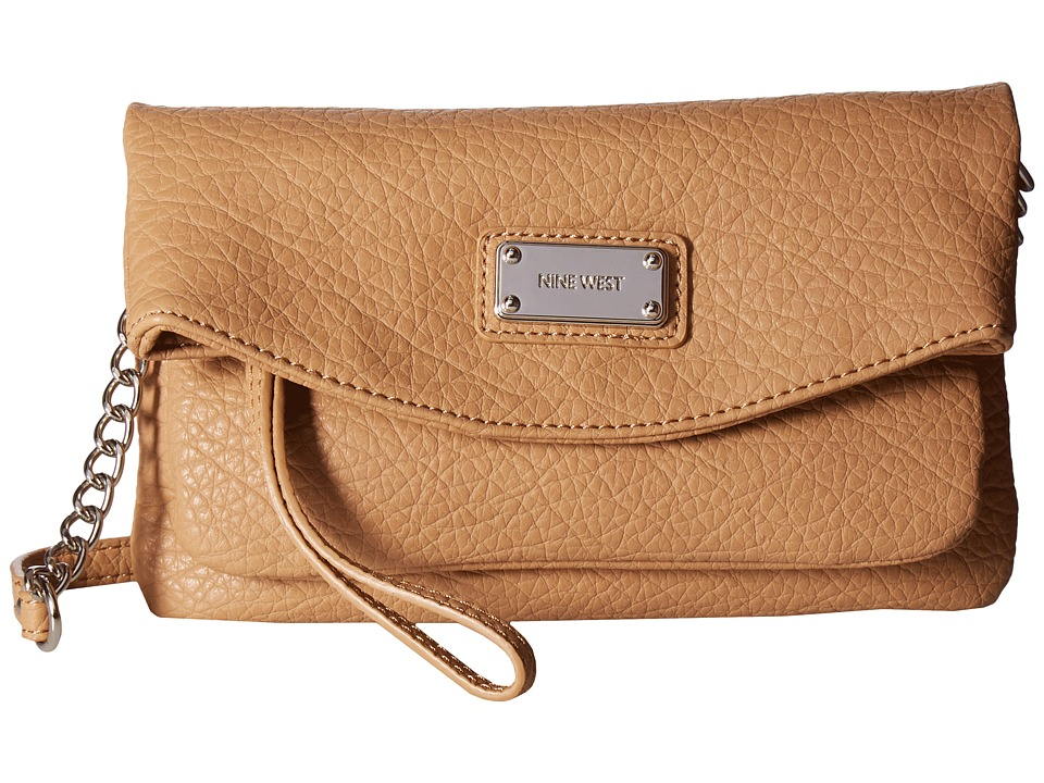 Nine West - Tunnel Crossbody (Dark Camel) Cross Body Handbags