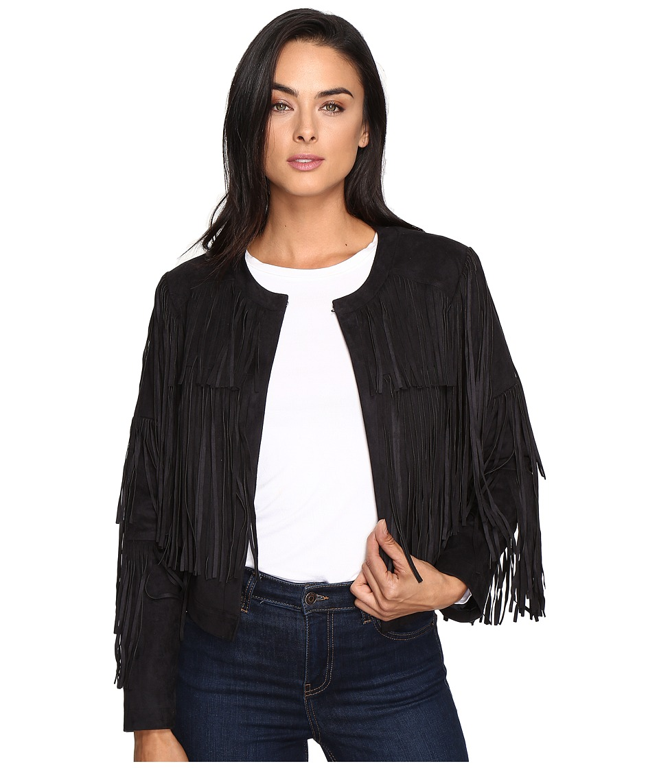 Mavi Jeans - Fringe Jacket (Black) Women's Coat