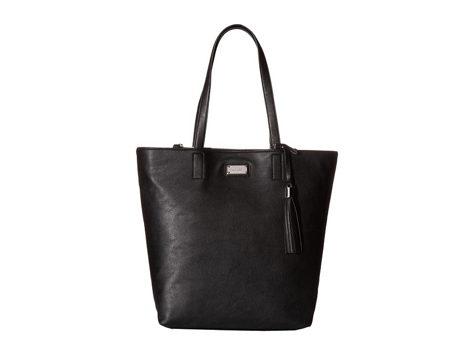 Nine West - Tasseled Large Tote (Black/Black) Handbags