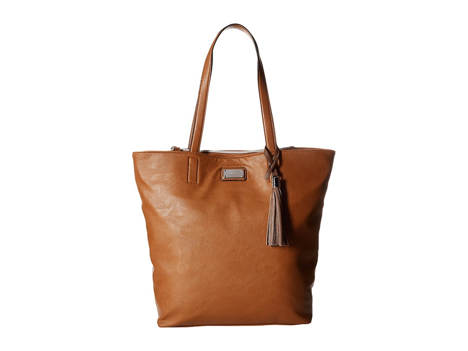 Nine West - Tasseled Large Tote (Bourbon/Sable) Handbags
