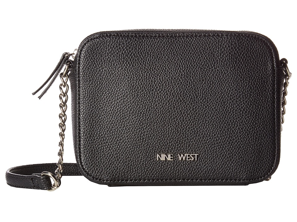 Nine West - Lucky Treasure Small Crossbody (Black) Handbags