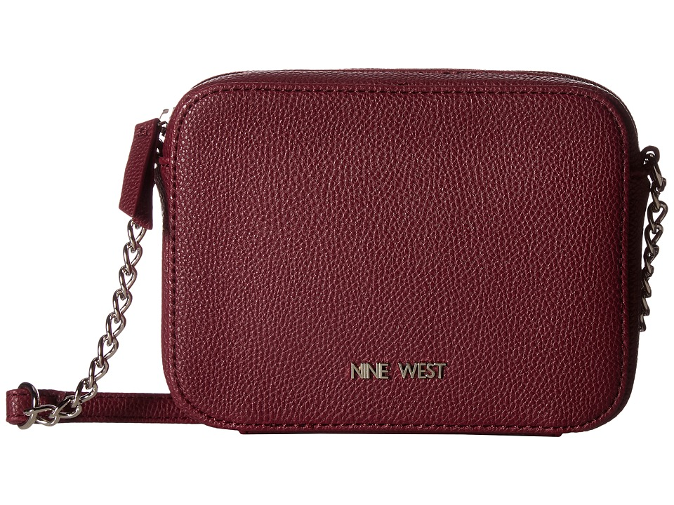 Nine West - Lucky Treasure Small Crossbody (Crimson) Handbags