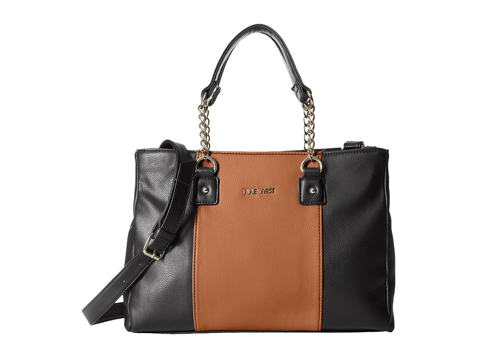 Nine West - Busy Body (Tobacco/Black) Handbags