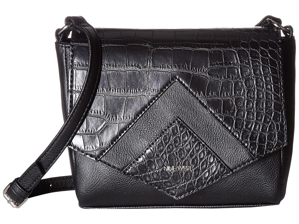 Nine West - Chic and Simple (Black/Black) Handbags
