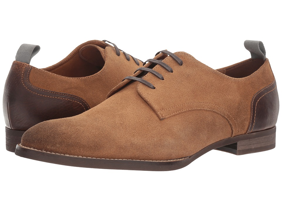 RUSH by Gordon Rush - Lindon (Tan Suede) Men's Lace up casual Shoes