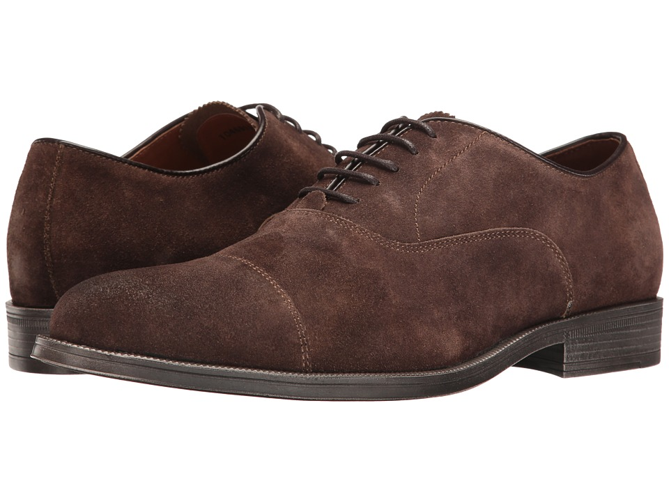 RUSH by Gordon Rush - Rowling (Brown Suede) Men's Lace up casual Shoes
