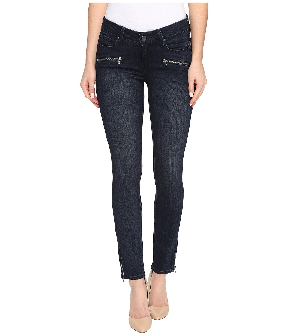 Paige Jane Zip Ultra Skinny in Deacon No Whiskers (Deacon No Whiskers) Women