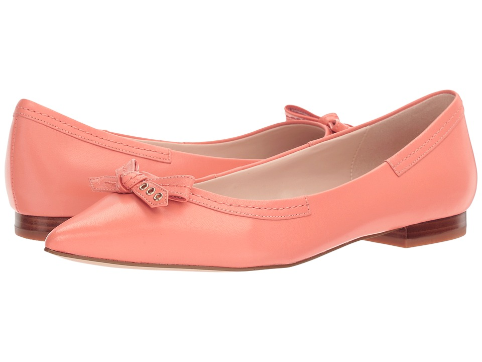 Cole Haan - Alice Bow Skimmer (Nectar Leather) Women's Shoes
